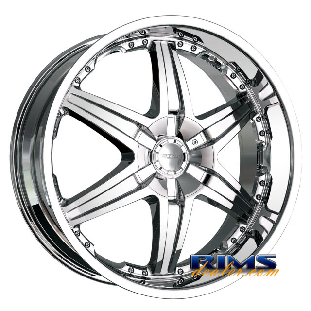 Pictures for Dip Rims WICKED-[D39] chrome